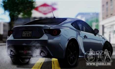 Scion FR-S (IVF) pour GTA San Andreas laissé vue