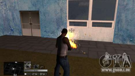 C-HUD Silver für GTA San Andreas dritten Screenshot
