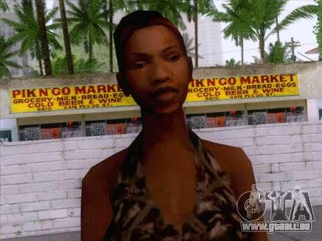 New Ballas Skin 3 pour GTA San Andreas troisième écran