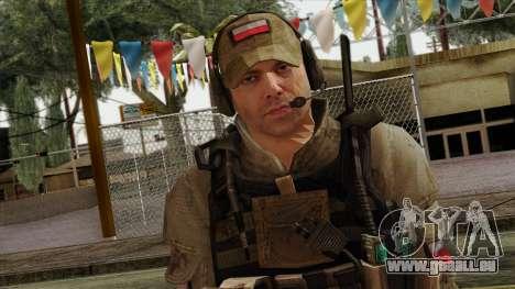 Modern Warfare 2 Skin 16 pour GTA San Andreas troisième écran