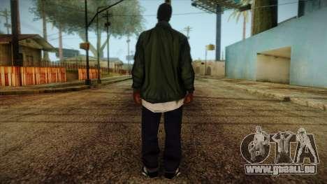 New Ryder Skin pour GTA San Andreas deuxième écran