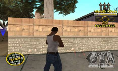 C-HUD Vagos pour GTA San Andreas troisième écran