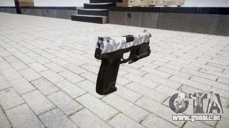 Pistolet HK USP 45 sibérie pour GTA 4 secondes d'écran