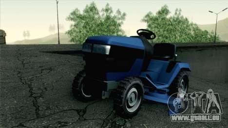 GTA V Mower für GTA San Andreas