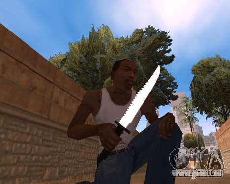 Clear weapon pack für GTA San Andreas