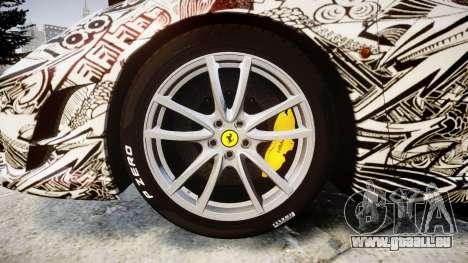 Ferrari F430 Scuderia 2007 Sharpie für GTA 4 Rückansicht