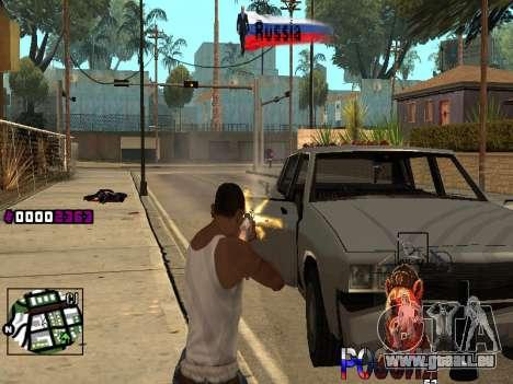 C-HUD RussiA pour GTA San Andreas troisième écran