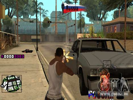 C-HUD RussiA für GTA San Andreas dritten Screenshot