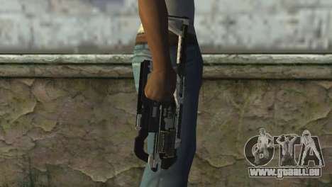 K-Volt from Crysis 3 pour GTA San Andreas troisième écran