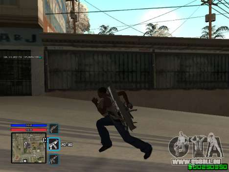 C-HUD Only Ghetto für GTA San Andreas zweiten Screenshot