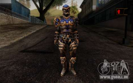 Shepard Reckoner Armor from Mass Effect 3 pour GTA San Andreas
