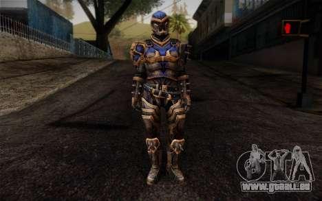 Shepard Reckoner Armor from Mass Effect 3 für GTA San Andreas