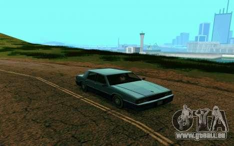 ENB pour les moyennes et faibles PC pour GTA San Andreas quatrième écran