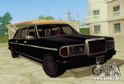 Admiral Limousine für GTA San Andreas