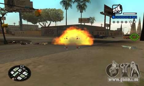 Samaro C-HUD pour GTA San Andreas deuxième écran