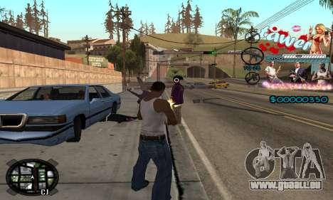 C-HUD Tawer GTA 5 pour GTA San Andreas quatrième écran