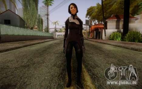 Ann Bryson from Mass Effect 3 pour GTA San Andreas