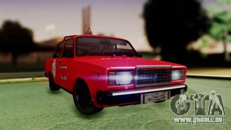 VAZ 2107 Auto École pour GTA San Andreas