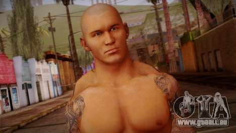 Randy Orton from Smackdown Vs Raw pour GTA San Andreas troisième écran