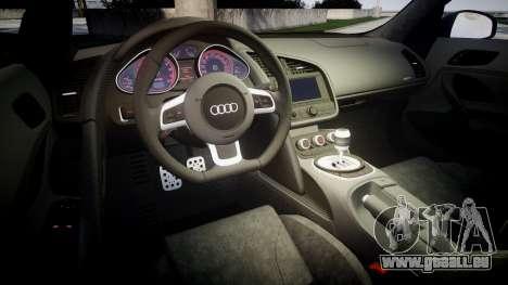 Audi R8 plus 2013 HRE rims pour GTA 4 est un côté