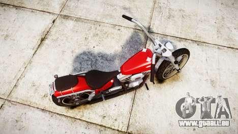 Western Motorcycle Company Daemon für GTA 4 rechte Ansicht