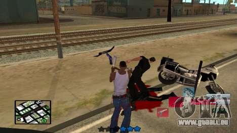 C-HUD by SampHack v.19 pour GTA San Andreas quatrième écran