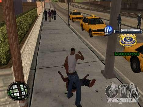 C-HUD Police S.A.P.D für GTA San Andreas