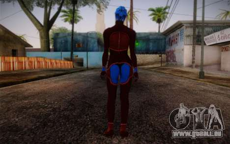 Asari Dancer from Mass Effect für GTA San Andreas zweiten Screenshot
