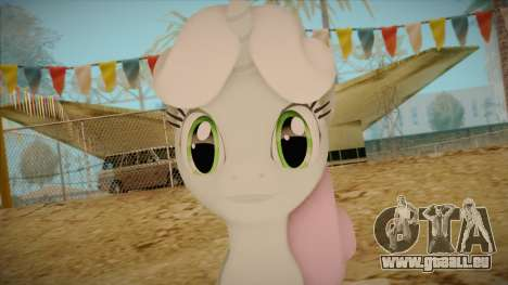 Sweetiebelle from My Little Pony pour GTA San Andreas troisième écran
