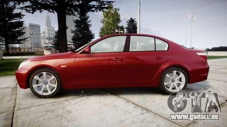 BMW 525d E60 2006 pour GTA 4 est une gauche