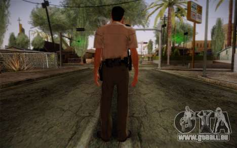 Alex Shepherd From Silent Hill Police für GTA San Andreas zweiten Screenshot