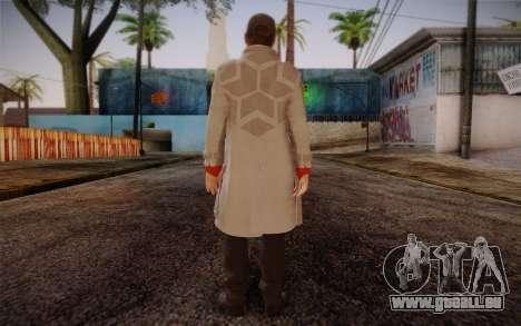 Aiden Pearce from Watch Dogs v7 pour GTA San Andreas deuxième écran