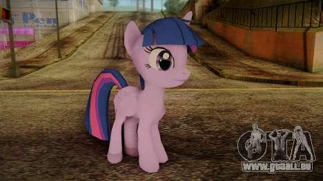 Twilight Sparkle from My Little Pony für GTA San Andreas
