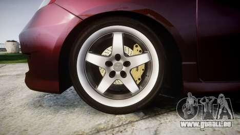 Honda Fit 2006 für GTA 4 Rückansicht