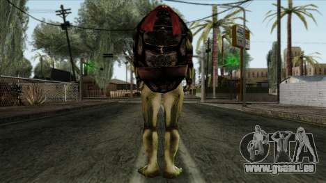 Raphaël (Teenage Mutant Ninja Turtles) pour GTA San Andreas deuxième écran