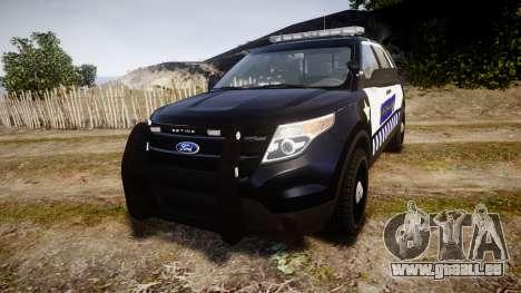 Ford Explorer 2013 Sheriff [ELS] v1.0L pour GTA 4
