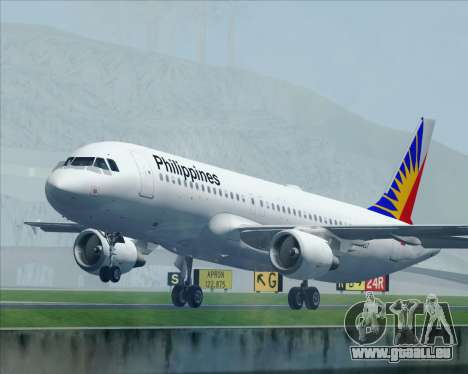 Airbus A320-200 Philippines Airlines pour GTA San Andreas