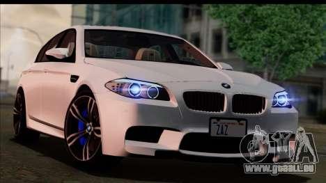 BMW M5 F10 2012 für GTA San Andreas