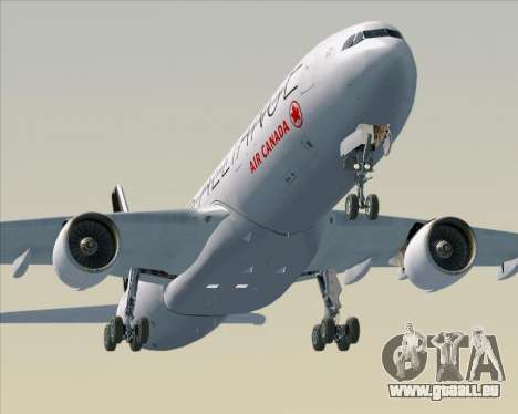 Airbus A330-300 Air Canada Star Alliance Livery pour GTA San Andreas moteur
