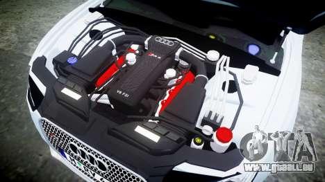 Audi RS5 2012 v2.0 pour GTA 4 est un côté