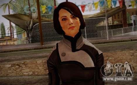 Ann Bryson from Mass Effect 3 pour GTA San Andreas troisième écran