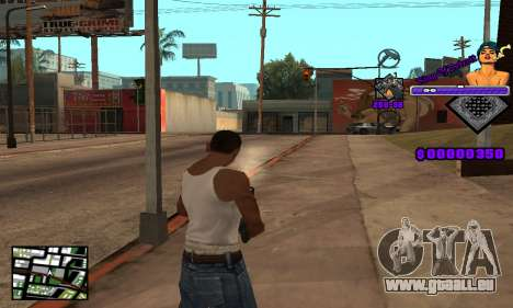 C-HUD King Of Detroit für GTA San Andreas her Screenshot
