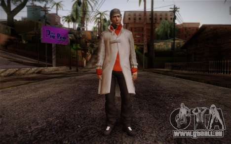 Aiden Pearce from Watch Dogs v7 pour GTA San Andreas
