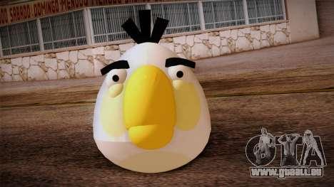 White Bird from Angry Birds für GTA San Andreas dritten Screenshot