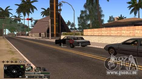 C-HUD Silver für GTA San Andreas her Screenshot
