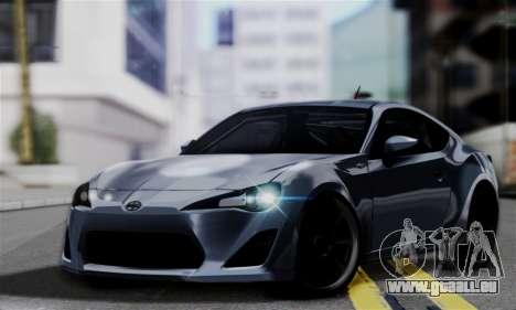 Scion FR-S (IVF) für GTA San Andreas
