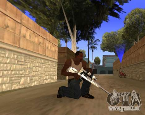 Clear weapon pack für GTA San Andreas fünften Screenshot