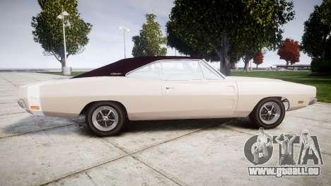 Dodge Charger RT 1969 pour GTA 4 est une gauche