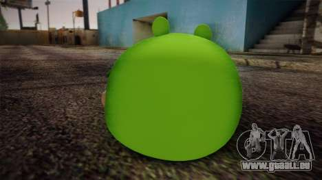 Pig from Angry Birds pour GTA San Andreas deuxième écran