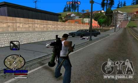 C-HUD Normal pour GTA San Andreas cinquième écran